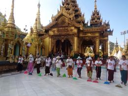 Pagoda de Scwedagon, de Open