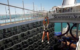 Tirolina en crucero, de Aquotic.com