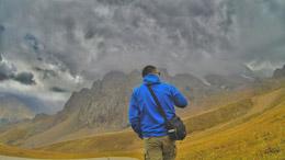 Montañas en Kazajistán, de Open