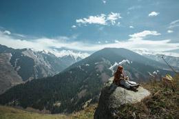 Vista de Kazajistán, de Open