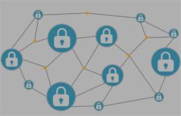 Blockchain o cadena de bloques, de Pixabay