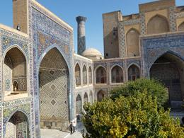 Inrterior de mezquita en Samarcanda, de Open