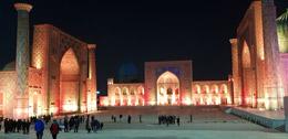 Mezquitas de Plaza Registán, de Open