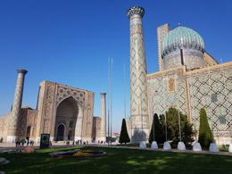 Mezquitas de laPlaza de Samarcanda, de Open