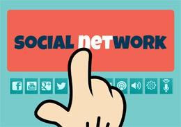 Presencia en redes sociales, de Pixabay