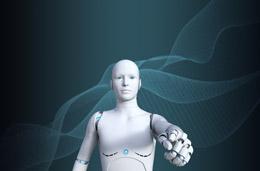 Robot y jefe, de Pixabay