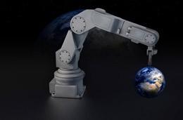Robotización en el mundo, de Pixabay