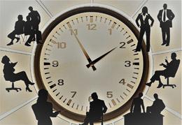 Tiempo de trabajo de españoles, de Pixabay