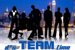 Tiempo de trabajo en equipo, de Pixabay