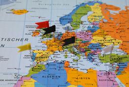 Instalación en mercados exteriores, de Pixabay