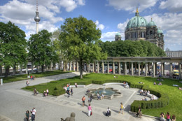 Torre de televisión y catedral de Berlín, de Open