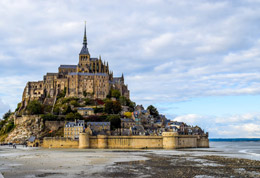 Mont Saint Michel, de Open