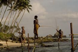Pescadores sobre palos, de Open