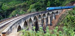 Tren en Sri lanka, de Open
