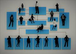 Organigrama de departamentos, de Pixabay