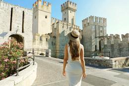 Visita al Castillo de Sirmione, de Open