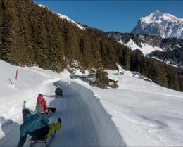 Deslizarse en trineo, de Turismo de Suiza