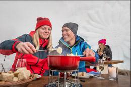 Excursión invernal para los más sibaritas, de Turismo de Suiza