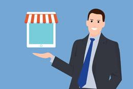 Lanzamiento de comercio online, de pixabay