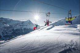 Sobrevolar el valle, de Turismo de Suiza