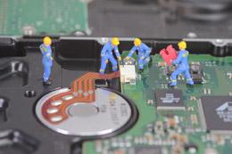 Tecnología y trabajadores, de Pixabay