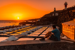 Salinas y faro en La Palma, de Open