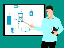 Quinta generación de telecomunicaciones, de Pixabay