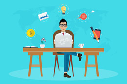 Freelancer español, de Pixabay