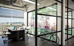 Diseño de oficina inspirador, de Hermarta