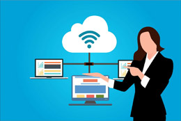 Servicio en el cloud, de Pixabay
