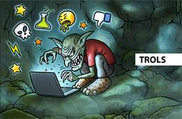 Trol con opiniones sobre web de ecommerce, de Trusted Shop