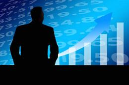 Inversión en acciones en subida, de Pixabay